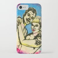 rockabilly iPhone & iPod Cases featuring Rockabilly love by Lydia Dick