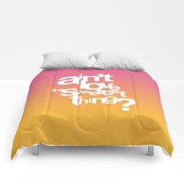 Sweetest Thing Comforters