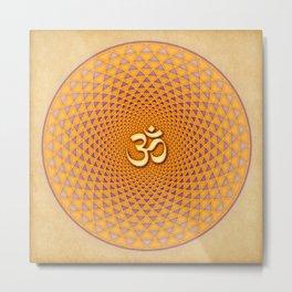Lotus / Namaste Metal Print