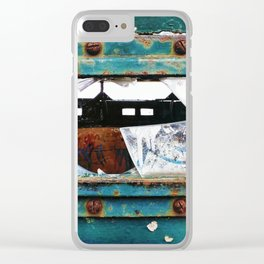 Fragment of History Clear iPhone Case