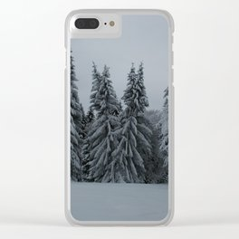 Enchanted Trees Clear iPhone Case