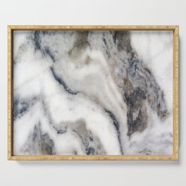 Marble Stone Texture Serving Tray