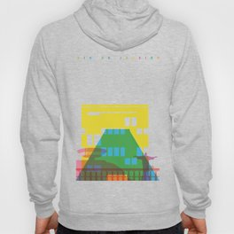 Shapes of Rio. Accurate to scale Hoody