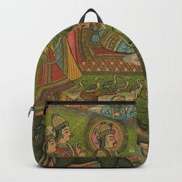 Vintage Indian Label Backpack