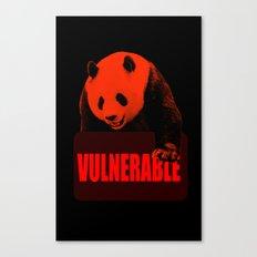 Vulnerable Giant Panda Canvas Print