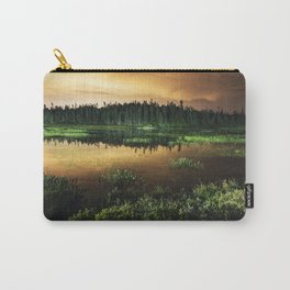Light Polluted Lake Carry-All Pouch