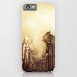 """The Golden Key"" John Bauer Watercolor iPhone Case"