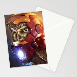 Iron Owl Stationery Cards