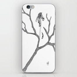 The Flower Promised Me That It Will Not Wither Again iPhone Skin