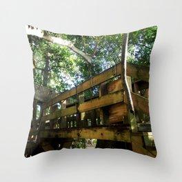 Tree house @ Aguadilla 4 Throw Pillow