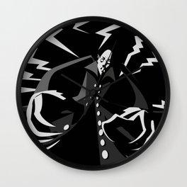 evil vintage vampire Wall Clock