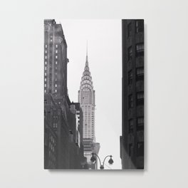 Middle of it All - NYC Photography Metal Print