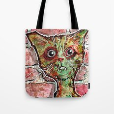 Chester the zombie cat Tote Bag