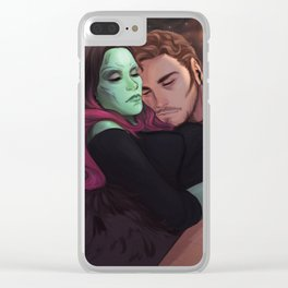 I can't let go of you baby Clear iPhone Case