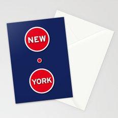 New York Manhattan USA Stationery Cards
