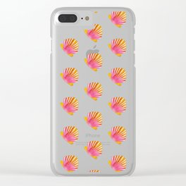 Sunrise Shells Clear iPhone Case