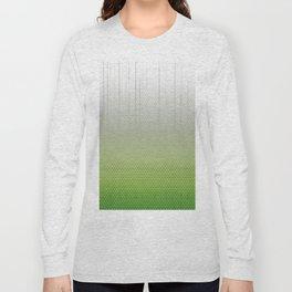 Sombra Skin Glitch Pattern Long Sleeve T-shirt