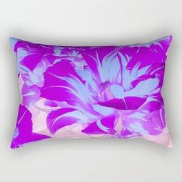 purple blue tulip Rectangular Pillow