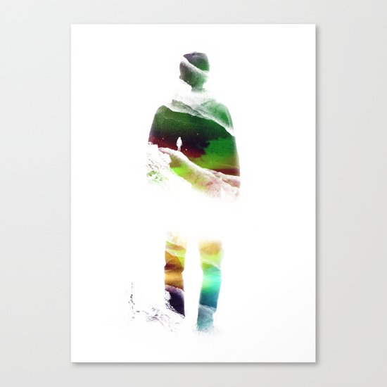 Lucid isolation Canvas Print