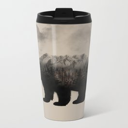 WHEN NATURE TALKS Metal Travel Mug