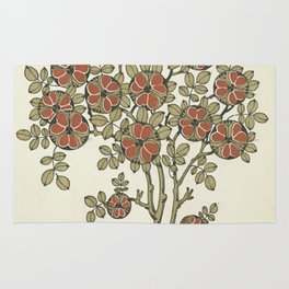 Ornate tree pattern Rug