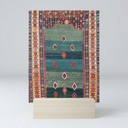Sivas Antique Turkish Niche Kilim Print Mini Art Print