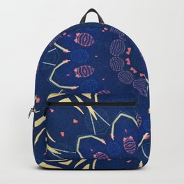 Pattern and Blues Backpack