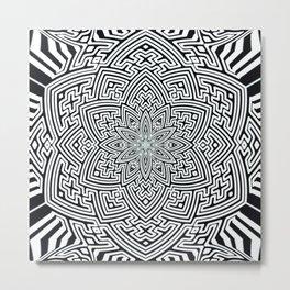 sayagata lotus Metal Print