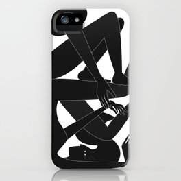 The Helping Hand iPhone Case