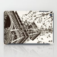 eiffel tower iPad Cases featuring Eiffel Tower by Linde Townsend