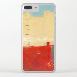 Come Up Here Clear iPhone Case