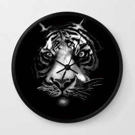 Tigerin Shadows Wall Clock