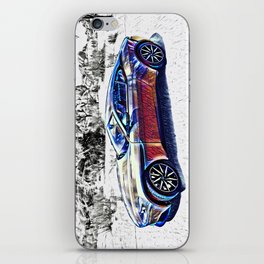 Travel In Style iPhone Skin