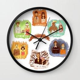 My favorite romantic movie couples Wall Clock