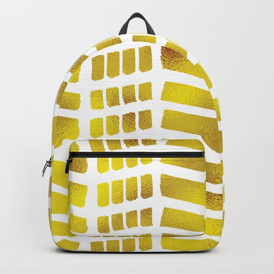 Gold bricks Backpack
