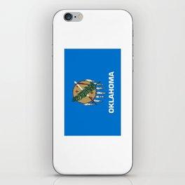 flag of oklahoma-Oklahoma,south,Oklahoman,Okie, usa,america,Tulsa,Norman,Broken Arrow iPhone Skin