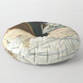 Olympia, Édouard Manet Floor Pillow