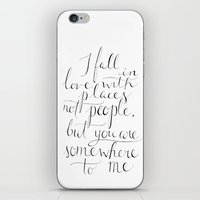 the cure iPhone & iPod Skins featuring Wanderlust Cure by Tiff Hung