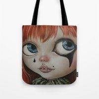 circus Tote Bags featuring Circus  by Bella Harris