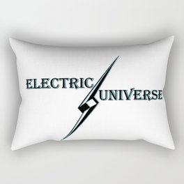 """""""Electric Universe"""" Revolutionary Science Theory Rectangular Pillow"""