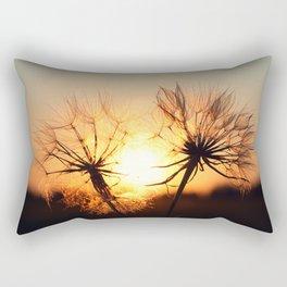 sunset in august Rectangular Pillow