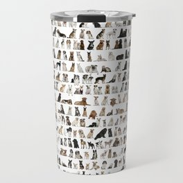 Dogs, Dogs and dogs Travel Mug