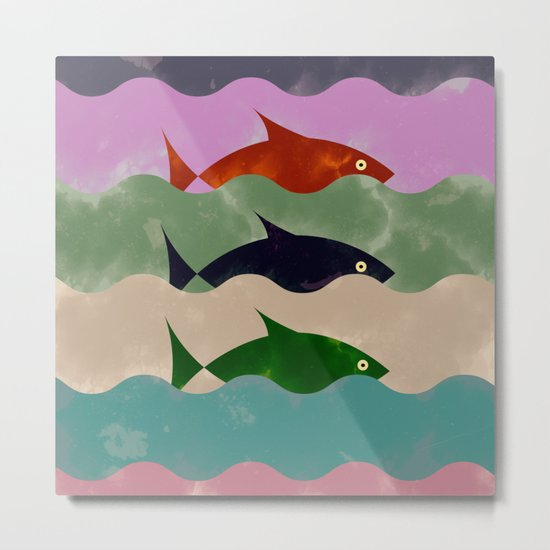 How Much is The Fish Metal Print