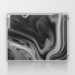 LAVA - BLACK Laptop & iPad Skin