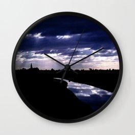 Wormerveerse Polder Wall Clock