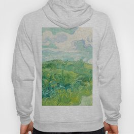 Vincent van Gogh Green Wheat Fields, Auvers 1890 Painting Hoody