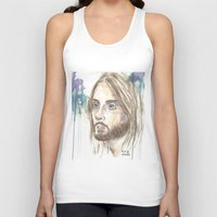 jared leto Tank Tops featuring Leto by SirScm