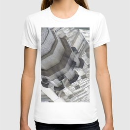 Geometric shapes in Chicago T-shirt