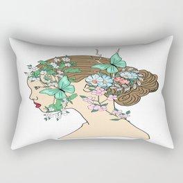 Allegory of Spring Rectangular Pillow