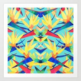 Summer Tropics Art Print